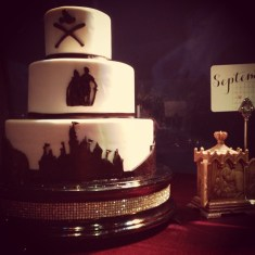 Sianez Disney Fairy Tale Wedding Disneyland Cake