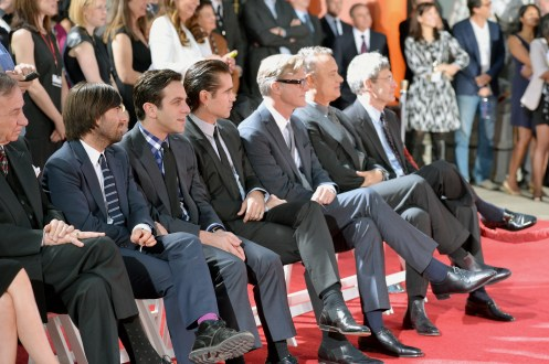Disney Saving Mr Banks Premiere Afi Fest 2013 Hollywood Hand And Footprint Ceremony Emma Thompson Cast Picture