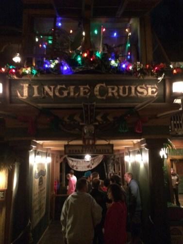 Disneyland Resort Holidays Press Event 2013 Jingle Cruise Adventureland