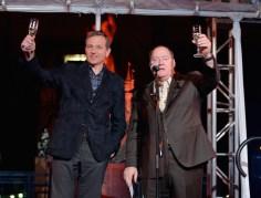 Walt Disney Animation Studios 90 Anniversary Celebration Walt Disney Studios Lot Bob Iger John Lasseter
