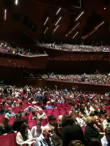 Disney Beauty And The Beast Musical Tour Segerstrom Center Opening Night Audience Sold Out