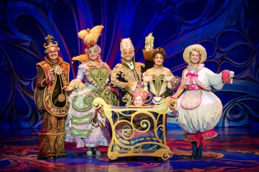 Disney Beauty And The Beast Musical Tour Segerstrom Center Opening Night Enchanted Objects Cast Photo