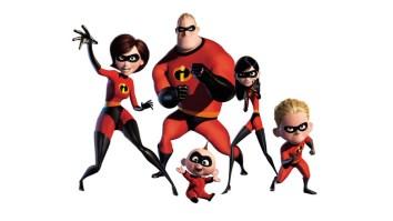 Disney Pixar Incredibles Parr Superhero Family