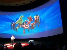 Disney Infinity Marvel Super Heroes Press Event Disneyexaminer Avengers Characters Gameplay