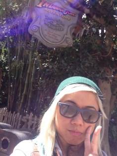Disneyexaminer Ideal Disneyland Day Zeila Selfie Indiana Jones Temple Of The Forbidden Eye