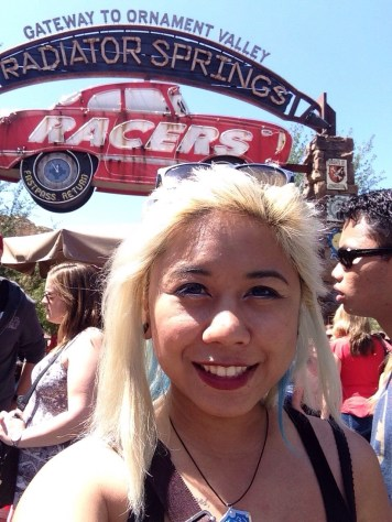 Disneyexaminer Ideal Disneyland Day Zeila Selfie Radiator Springs Racers