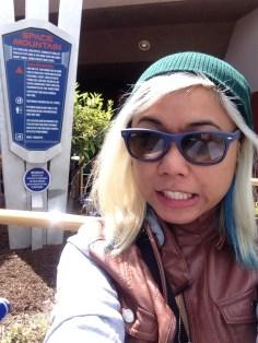 Disneyexaminer Ideal Disneyland Day Zeila Selfie Space Mountain