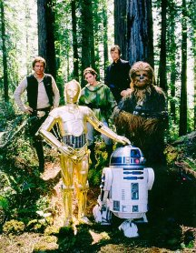 Lucasfilm Star Wars Episode 6 Return Of The Jedi Cast Photo