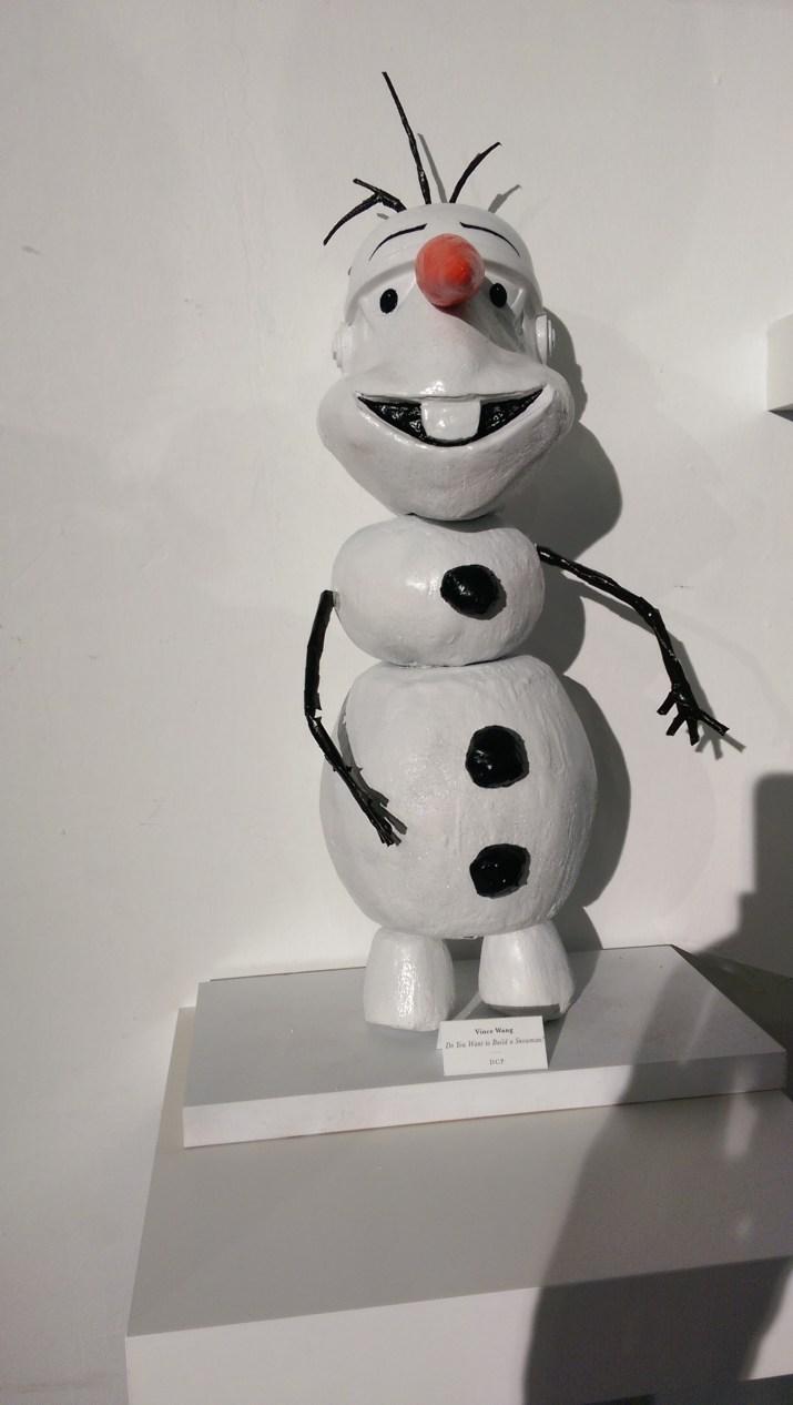 Disney Consumer Products Lucasfilm Neff Star Wars Legion Art Exhibit Olaf Frozen Snowman