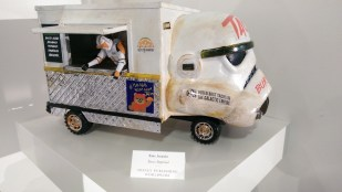 Disney Consumer Products Lucasfilm Neff Star Wars Legion Art Exhibit Taco Truck