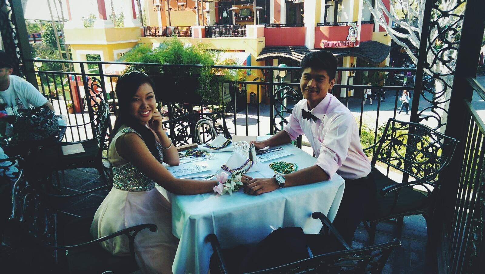 The Big Easy Prom Dinner [Prom At The Disneyland Resort]