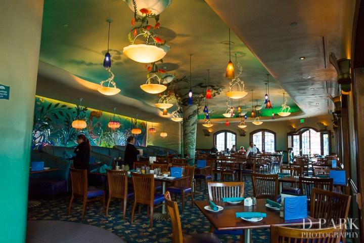 Paleo Whole30 Dieting Disney Parks Disneyexaminer Ariels Grotto Dining Room