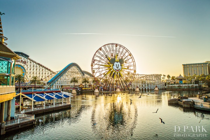 Paleo Whole30 Dieting Disney Parks Disneyexaminer Paradise Pier Dusk
