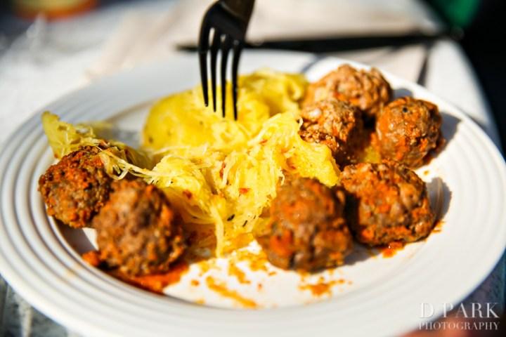 Paleo Whole30 Dieting Disney Parks Disneyexaminer Spaghetti Squash Meatballs