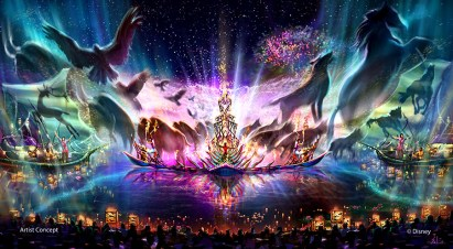 Rivers Of Light Disney Animal Kingdom Concept Art Wdw