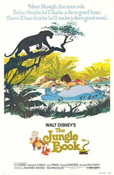 Disney The Jungle Book Original Movie Poster