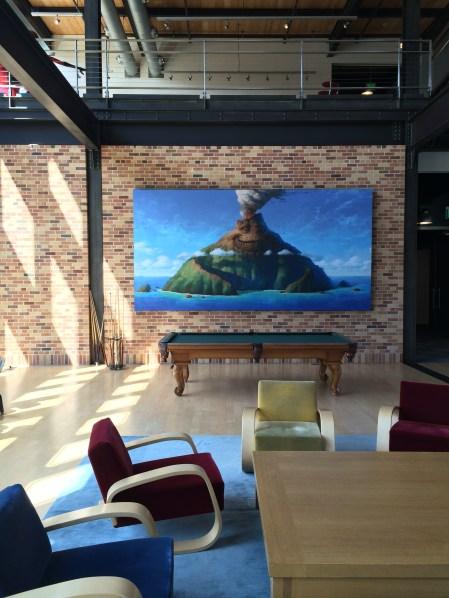 Disney Pixar Animation Studios Headquarters Disneyexaminer Tour Emeryville Lava Animated Short Picture
