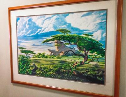 Lion King Animation Concept Art Walt Disney Studios Lot