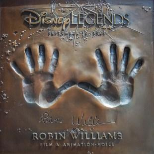 Robin Williams Legends Plaza Walt Disney Studios Lot