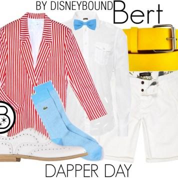 Bert Disneybound Outfit Dapper Day Style Guide Disneyexaminer
