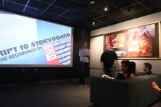 Disney Big Hero 6 Press Day Disneyexaminer Screenwriting Story Robert Baird Paul Briggs