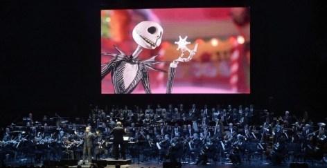 Danny Elfman Music From The Films Of Tim Burton Concert Honda Center Disney Nightmare Before Christmas Jack Skellington