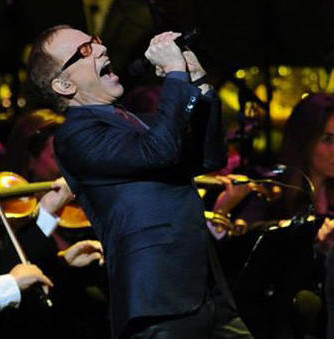 Danny Elfman Music From The Films Of Tim Burton Concert Honda Center Disney Nightmare Before Christmas Singing