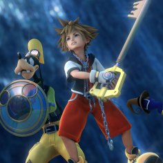 Disney Square Enix Kingdom Hearts Hd 2 5 Remix Sora Goofy Donald