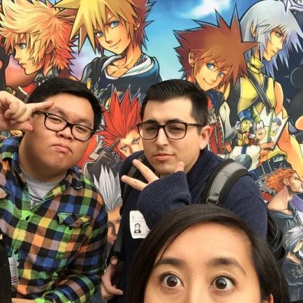 Disney Kingdom Hearts H D 2 5 Remix Launch Event Walt Disney Studios Team Disneyexaminer