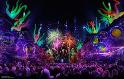 Disneyland 60 Diamond Celebration Forever Fireworks Concept Art