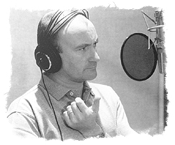 Phil Collins Recording