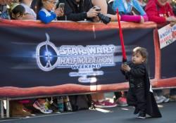 Rundisney Star Wars Half Marathon Weekend Disneyland Kids Races