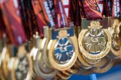 Rundisney Star Wars Half Marathon Weekend Disneyland Medals