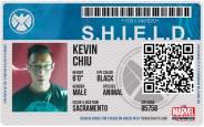 SHIELD ID Badge Marvel Experience Disneyexaminer Tour