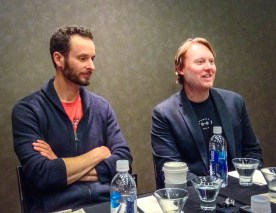 Disney Big Hero 6 Directors Chris Williams Don Hall In Home Junket