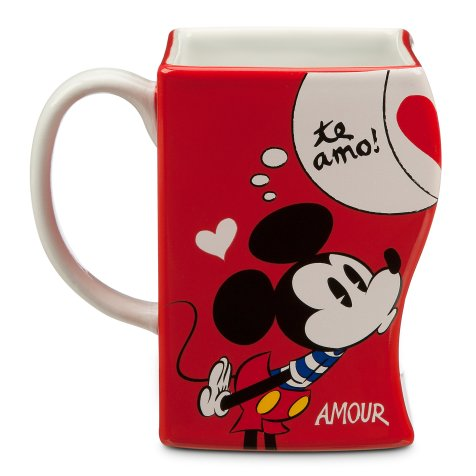 Mickey Mouse Interlocking Mug