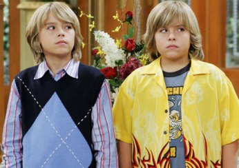 Zack and Cody from The Suite Life
