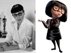 Edith Head Edna Mode Incredibles