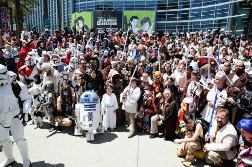 Star Wars Celebration Anaheim Disneyexaminer Cosplay Group Shot