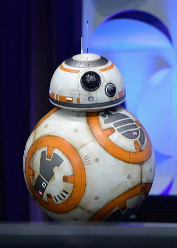 Star Wars Celebration Anaheim Disneyexaminer Force Awakens Panel BB8 New Droid