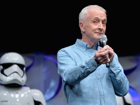 Star Wars Celebration Anaheim Disneyexaminer Force Awakens Panel Anthony Daniels