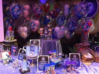 Disneyland Diamond Celebration Launch Event Food Balloons