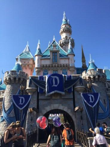 Disneyland Diamond Celebration Sleeping Beauty Castle