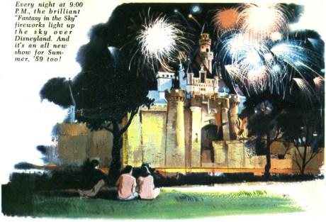 Disneyland Fireworks Fantasy In The Sky