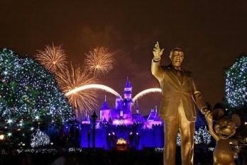 Disneyland Fireworks Walt Disney Mickey