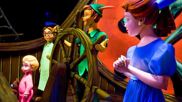Disneyland Peter Pans Flight