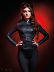 Marvel Avengers Age Of Ultron Her Universe Hot Topic Black Widow Belted Jacket