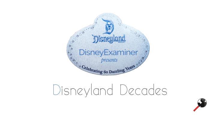 Disneyexaminer Disneyland Decades Video Series Logo