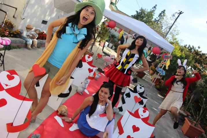 Alice In Wonderland DIY Tea Party Outfits
