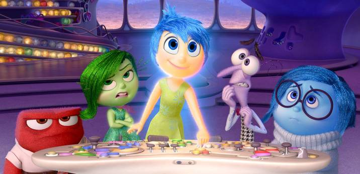 Disney Pixar Soundtrack Emotions Inside Out